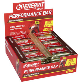 Enervit Sport Performance Bar Box 28 x 30+30g, Cocoa